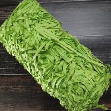 Наповнювач паперовий салатовий 4 мм. 100 грам.
