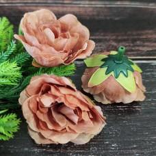 Троянда коричнева 4 см.