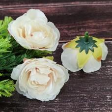 Троянда молочно-рожева 4 см.