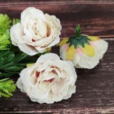 Троянда молочно-бузкова 4 см.